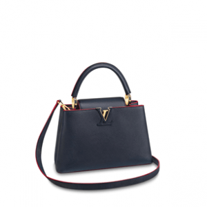 Top 10 Louis Vuitton Replica Women Handbag Cheap High Quality Capucines Hand Bag Classy Signature