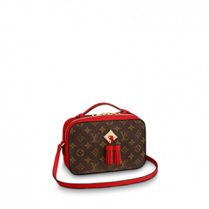 Top 10 Louis Vuitton Replica Women Handbag Cheap High Quality Saintonge Compact Bag Classy Signature