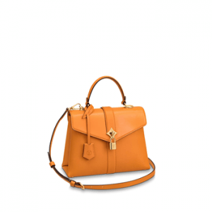 Top 10 Louis Vuitton Replica Women Handbag Cheap High Quality Rose des Vents Hand Bag Orange