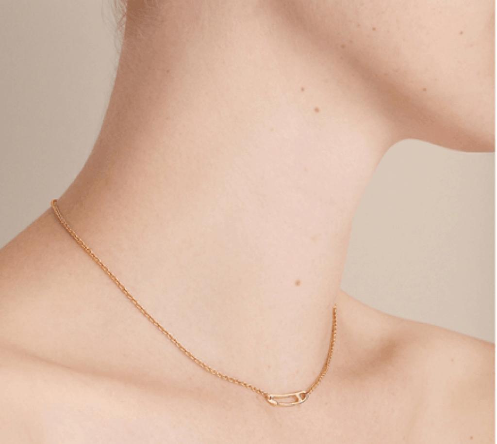 Hermès Chaine d'Ancre Mini Punk Necklace