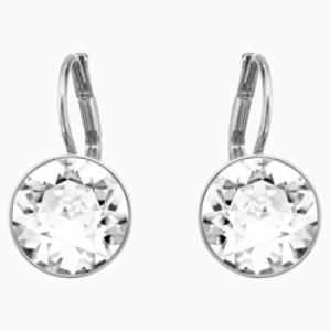 Where can I buy replica designer? Swarovski Bella Rhodium Plated Earrings