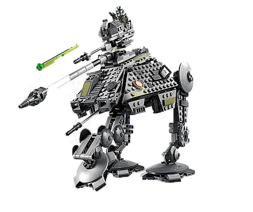 All-Terrain Attack Pod Star Wars Lepin. we like this lego replica for lepin good quality and highly defined copy skills. almost as good as the original, this copy lepin star war is impeccable.