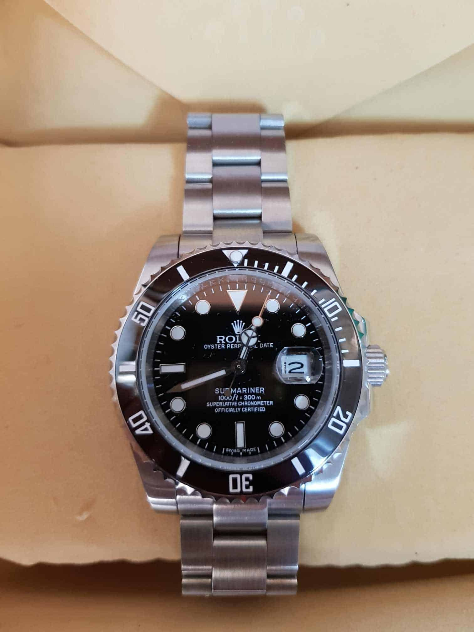 best DHGate Rolex Replica Review 2020 is Rolex Submariner. this is a classic most popular in US, Brazil, Europe.