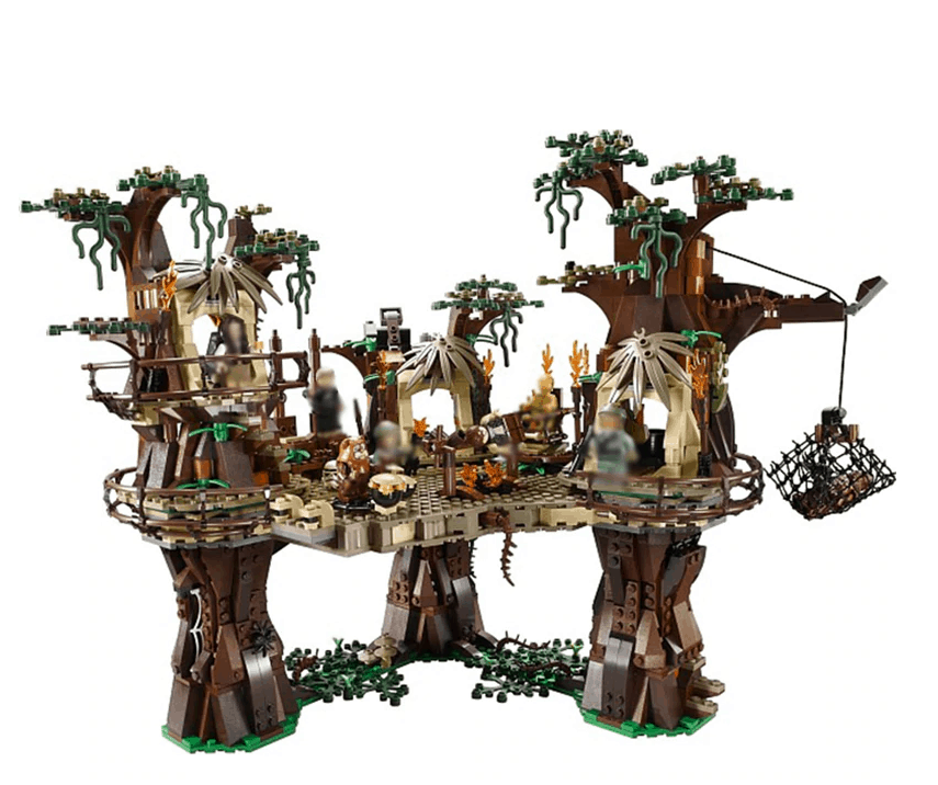Ewok Village Lepin Blocks Star Wars is best lepin star wars aliexpress toy for adults children, building blocks,