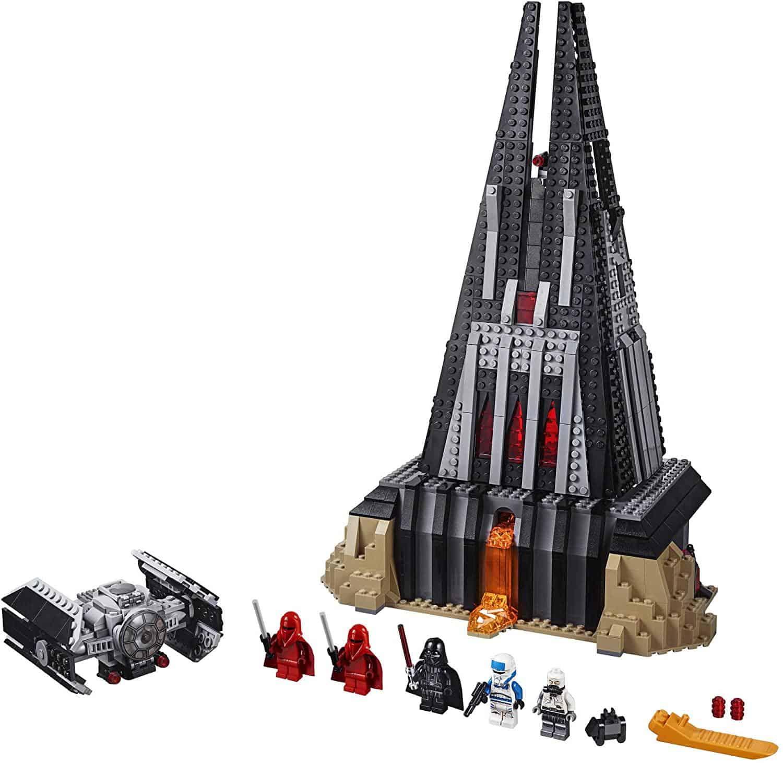 Star Wars Darth Vader Castle Lepin es revisión de la mejor marca china lego