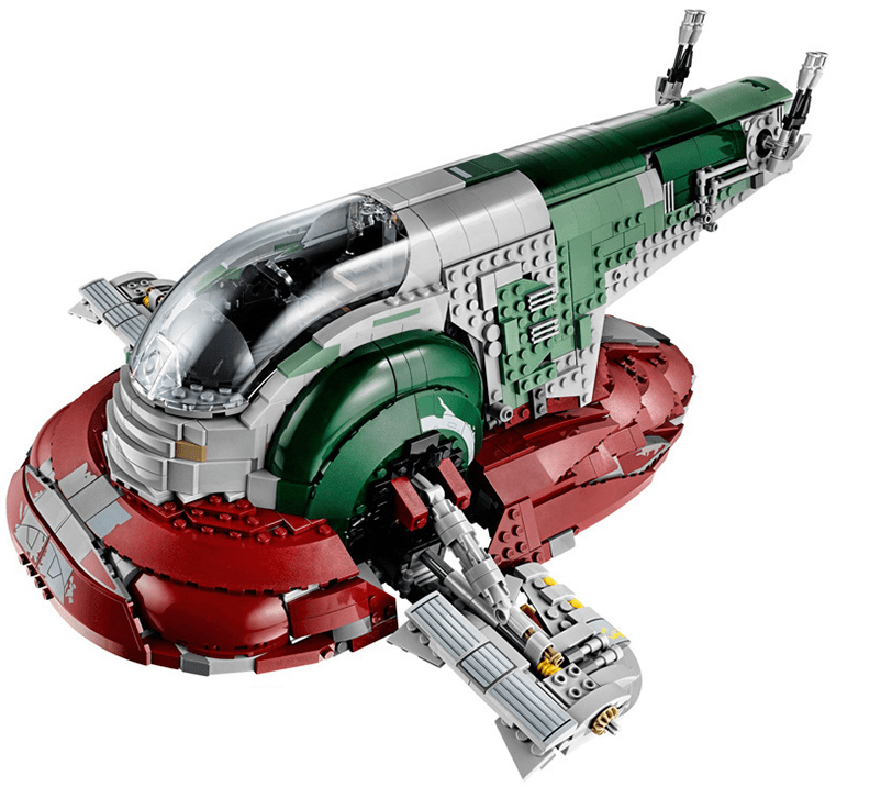 Star Wars Slave 1 Space Ship is best lepin star wars reddit