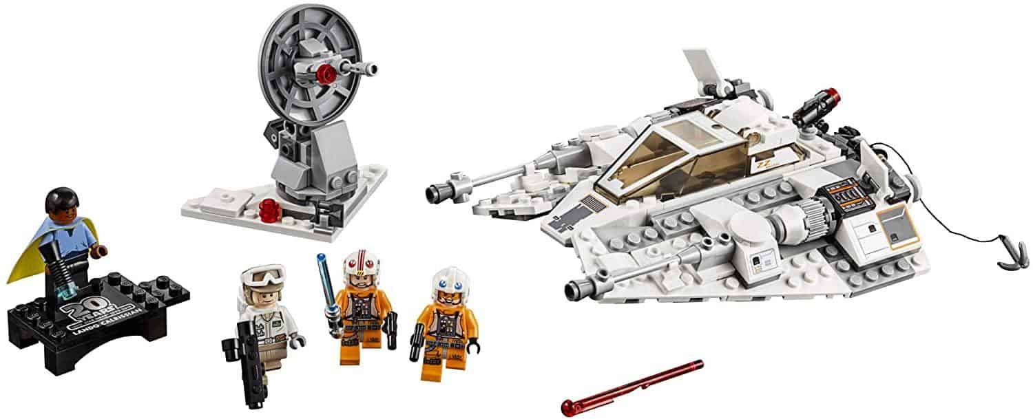 Starwars Snowspeeder 20th Anniversary Edition Lepin Blocks