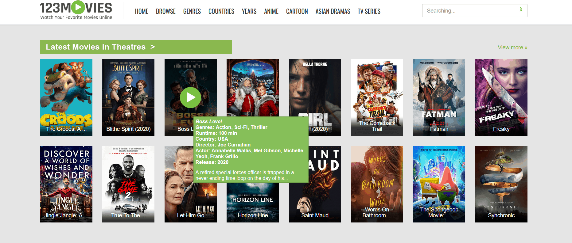 123Movies is excellent Alternatives to TheWatchSeries