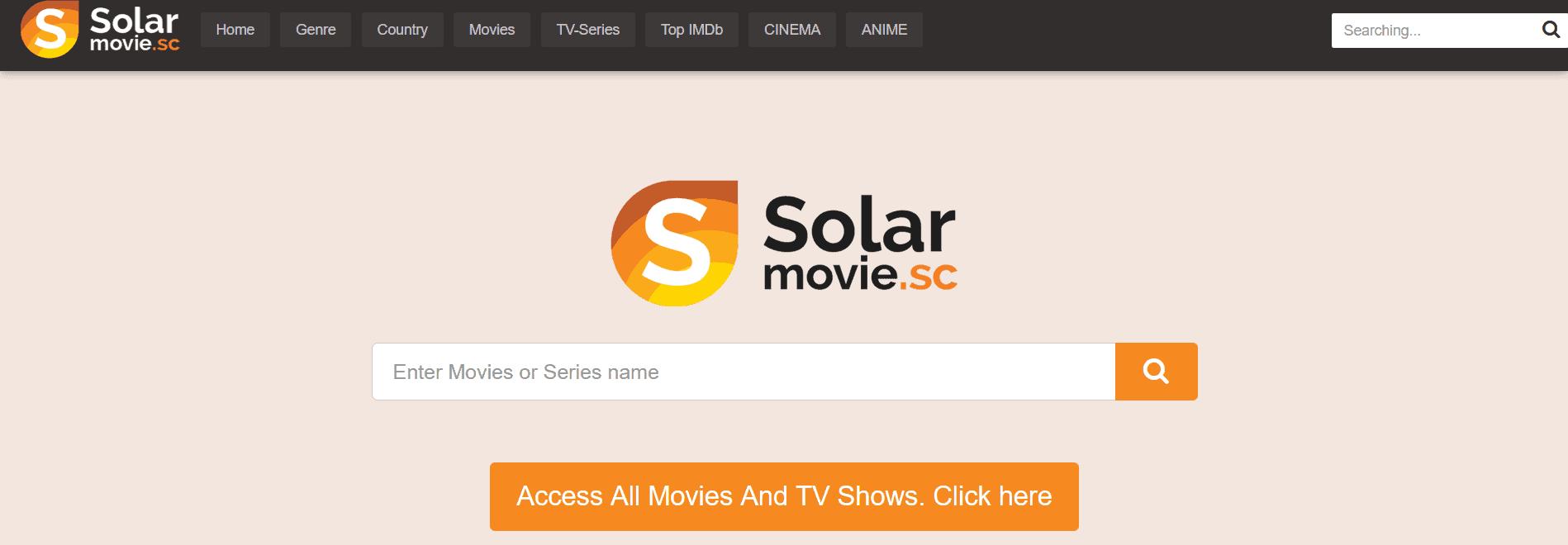 SolarMovie es una alternativa a TheWatchSeries