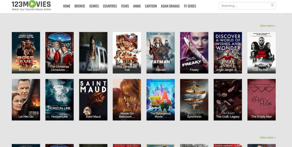 123Movies is an excellent Alternative to FMovies