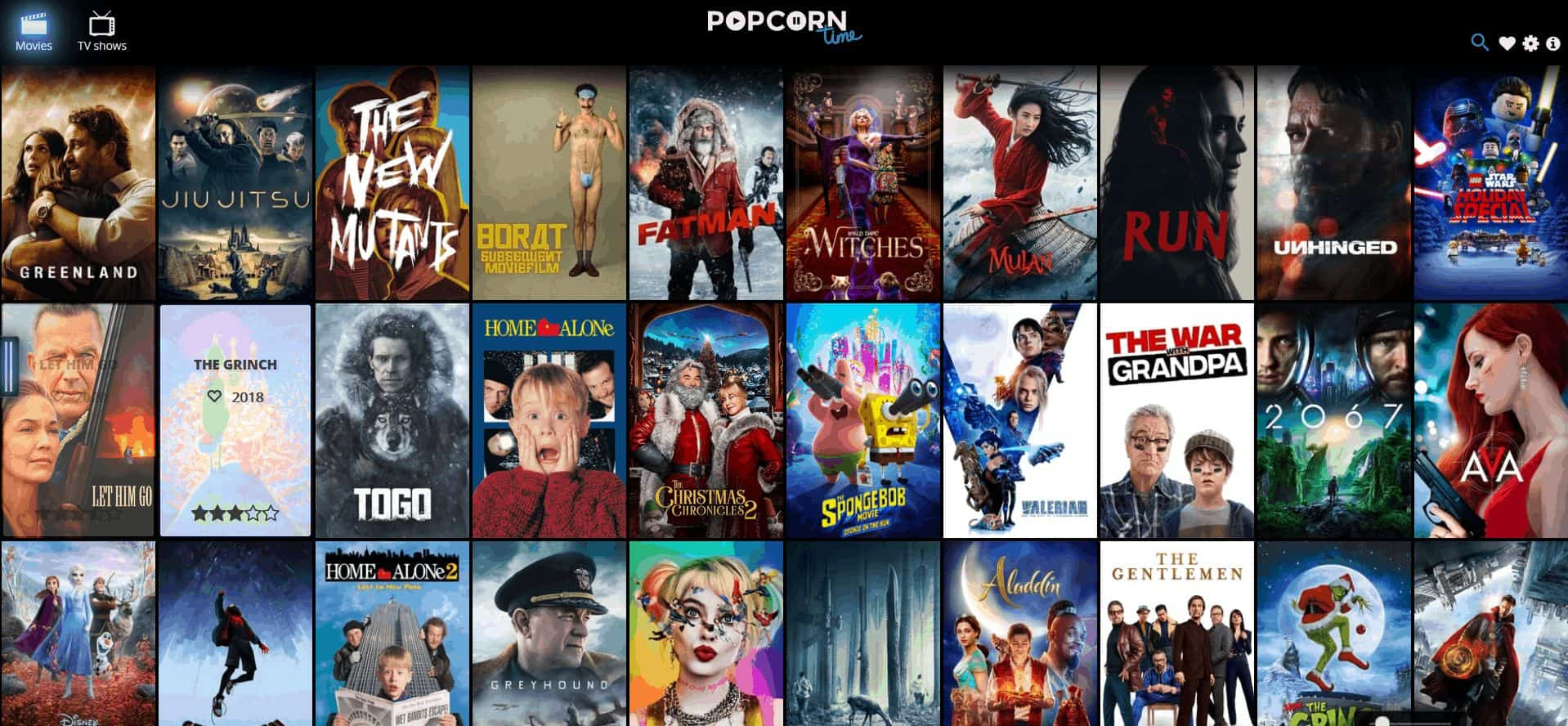 Coke And Popcorn Alternatives – Top Free Movie Site for English