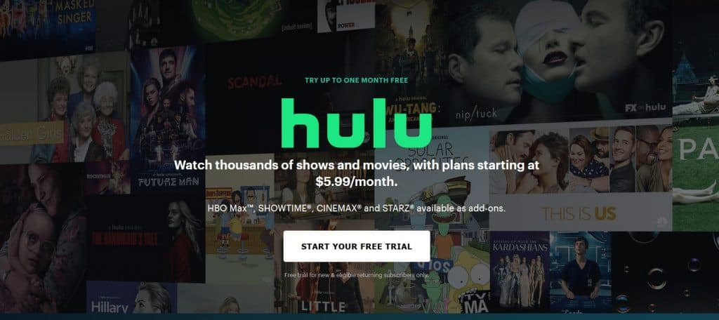 hulu is an excellent Alternative to FMovies, How can I watch free movies at home?, 10 sites where you can watch movies for free
