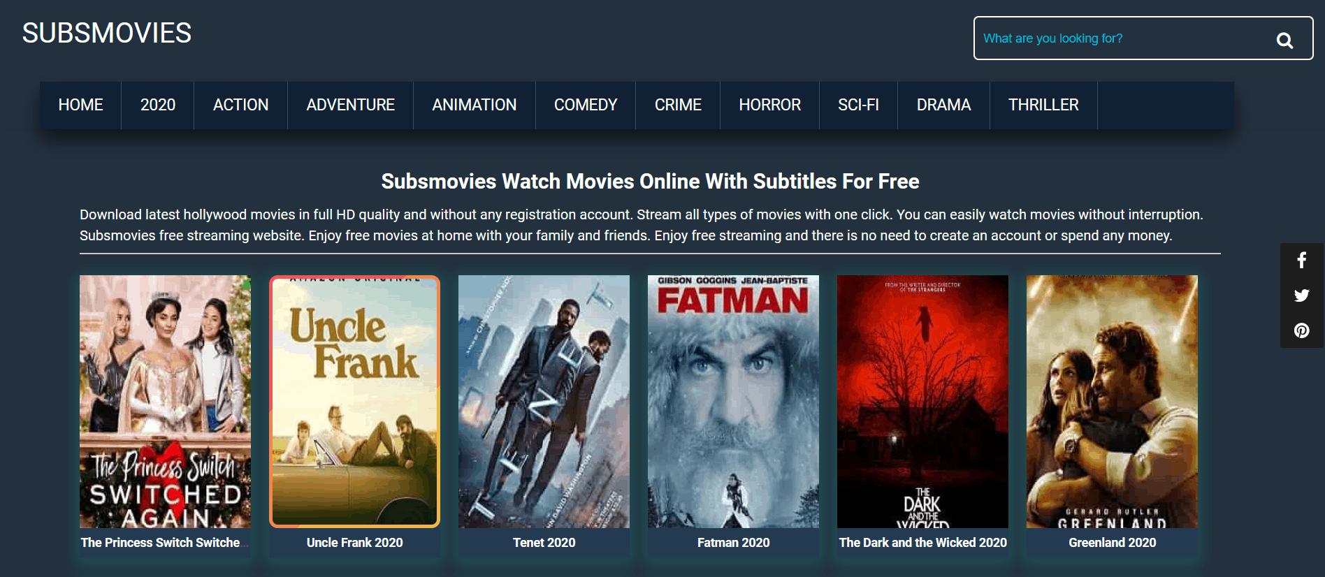 SubsMovies is Alternatives to SockShare