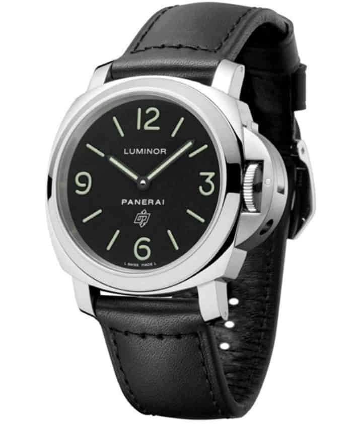 5 Great Alternatives to the Rolex Submariner is the Panerai Luminor Base Logo Acciaio Men's Watch