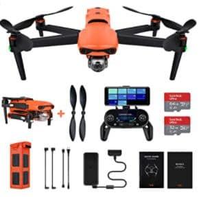 Autel Robotics EVO 2 Drone 8K Camera Folding Quadcopter (2021 Newest) es el mejor dron para 2021: las mejores cámaras voladoras de DJI, Parrot 2022