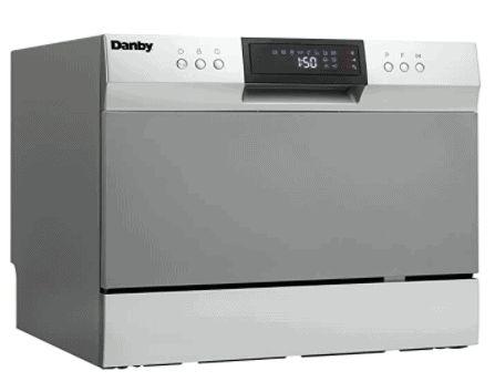 El lavavajillas de encimera Danby DDW631SDB es un estante alternativo para lavavajillas Bosch y productos similares