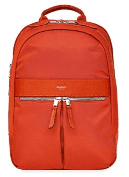A list of Fjallraven Kanken alternatives is the Knomo Beaufort Women's Backpack pretty functional bag for work play outdoors