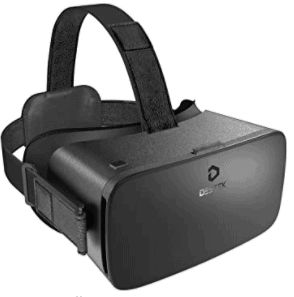 Destek V5 VR Headset, Buying Guide for The next Best VR Headsets this year in 2021 2022 2023, this VR headset supports smartphones with 4.7-6.8 inches screen, get the VR content set and simply put the smartphone into the VR goggles