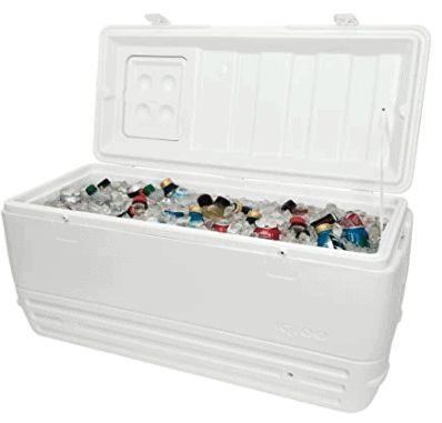 Igloo Polar Cooler is the next best cooler to Yeti. good for outdoors use. party for chilled beverages wedding events