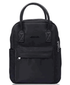 Lily & Drew Mini Travel Backpack with Microfiber Leather Handles is The Top 8 Alternatives to Fjallraven Backpacks