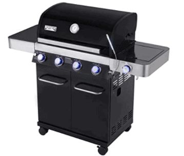 Monument Grills Porcelain 4-Burner Propane Grill is 5 Best Outdoor Grills of this year