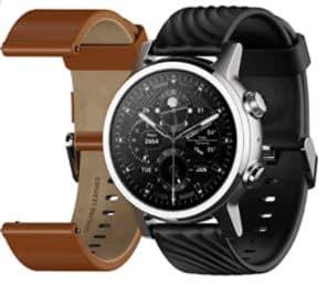 Moto 360 3rd Generation es una de las mejores alternativas de Apple Watch para este año. duración de la batería increíble y elegante