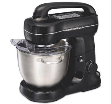Next Best Mixer to KitchenAid is Hamilton Beach Electric Stand Mixer. Mix flour eggs to make cake no more hand beating whisking