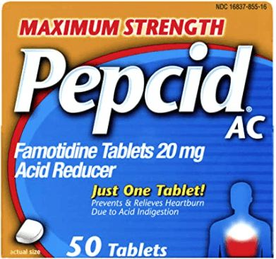 Pepcid is FDA recommended alternatives to Zantac