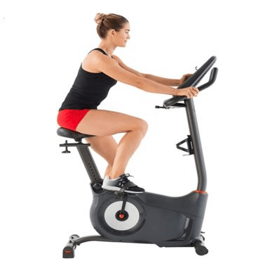 SCHWINN 170 Upright Bike, digital resistance level, incline decline level, competitive seat is the Best Exercise Bikes for Spinning At Home