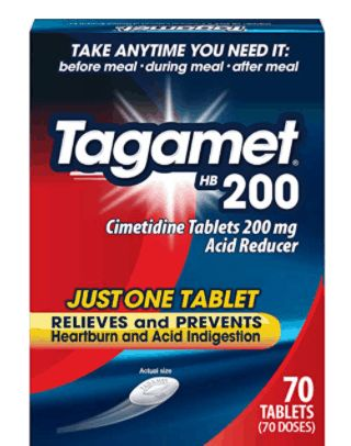 Tagamet is a good Zantac Alternatives. The 5 medicine to Take Instead of Zantac