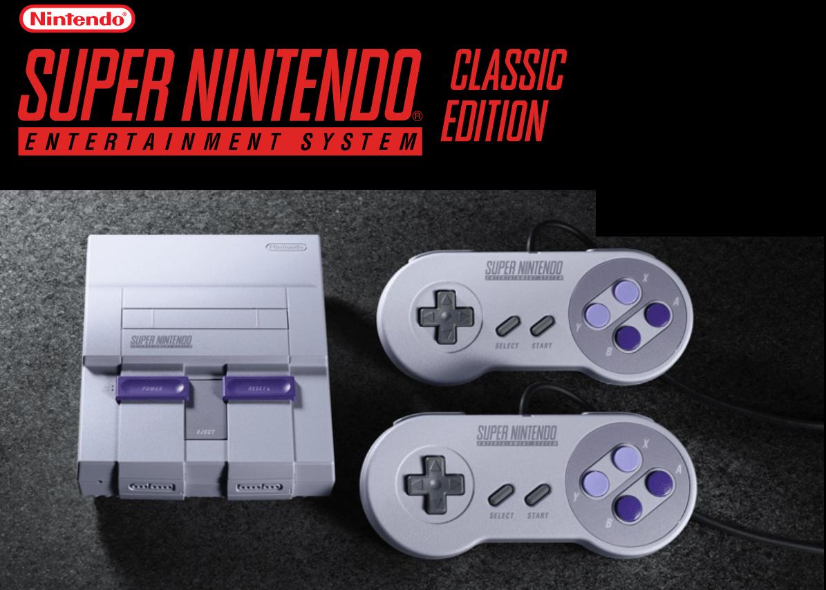 ¿Qué consola de juegos debo comprar, la playstation o la nintendo? SNES Classic, sistema Super NES Classic Edition, para juegos de los 90 y los 80,