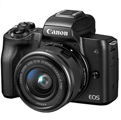 Canon EOS M50 Mirrorless Vlogging Camera is the 5 Best Mirrorless Cameras for this year, High-resolution 4K HDR Videos with pro movie features. Models: α9 II, α6600, α7R IV, α9, α7R III, α7 III, α6500, α6400, α7 II, Landscape Photography to capture nature and intimate details