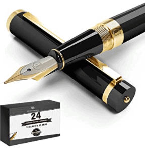 Dryden Designs Luxury Fountain Pen with Medium Nib is 5 Less Expensive Mont Blanc Fountain Pen Alternatives, Are Dryden designs pens good? smooth writing quality and stylish design, Where are Dryden pens made? their nibs are made in Germany, while designs are drawn in USA, the body is sourced from various countries