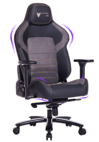 FANTASYLAB Big and Tall Gaming Chair is the Best gaming chairs for this year our recommendations from top budget to premium choices, What chair is better than Secretlab?, High Back Massage Memory Foam Reclining Gaming Chair with Metal Base