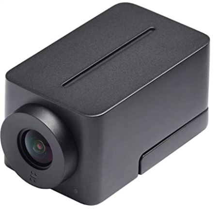 Huddly IQ Full HD 1080p USB Video Conferencing Camera with Embedded Microphone is Best Google Meet Alternatives, video meeting experience using 150° wide-angle video, an embedded microphone array and groundbreaking AI capabilities.