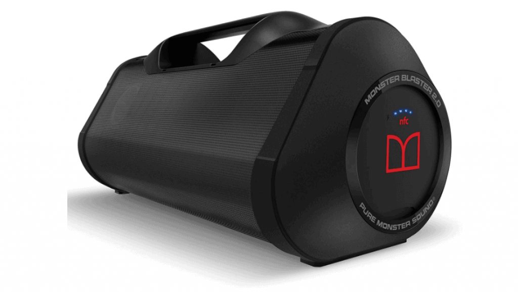 Monster Superstar Blaster Boombox is top 5 Best Bluetooth Speakers for this year Portable, Waterproof, and, High Performance Portable Wireless Bluetooth Speaker, Rechargeable Water Resistant with Indoors/Outdoors EQ Modes