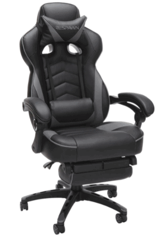 RESPAWN 110 Gray Gaming Chair is the Best budget gaming chair for teenagers, students, stay home work, Which Respawn Gaming Chair is best? the RESPAWN 110 Gray Gaming Chair is best, Does the Respawn 110 gaming chair recline?
