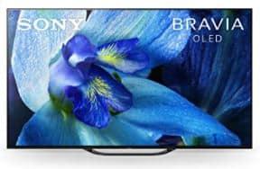 Sony XBR-65A8G Bravia OLED 4K UHD Smart TV es el top 5 de televisores OLED baratos, 4K, 8K, ¿Qué es Sony Bravia XBR? revisión y consejos, serie de mayor rendimiento con funciones avanzadas