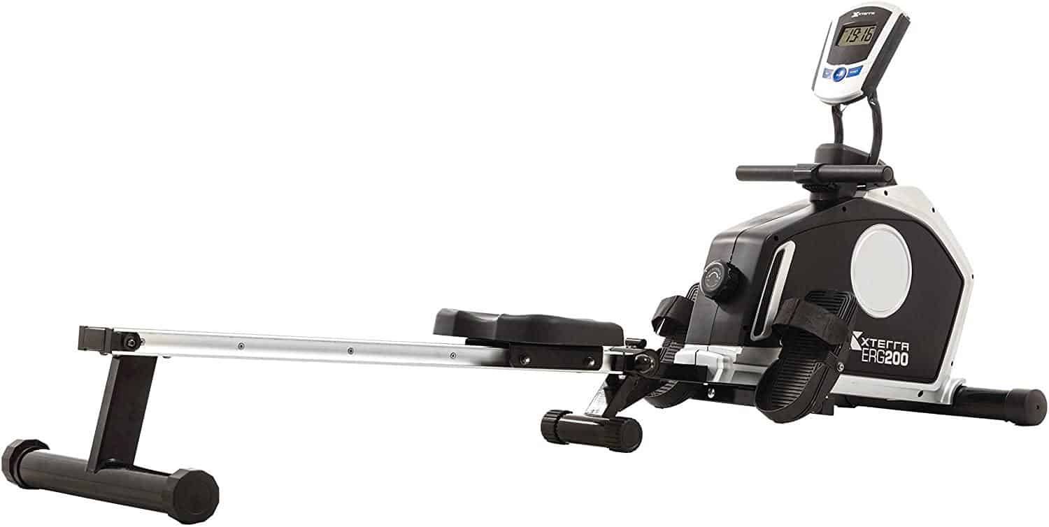 XTERRA Fitness ERG200 Folding Magnetic Resistance Rower is 5 Best Rowing Machines for Home Gym Cardio Workouts this year, impact-free and the intensity is completely user-controlled