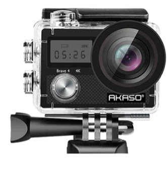 AKASO Brave 4 4K 20MP WiFi Action Camera is 5 Best Alternatives to GoPro, AKASO Brave 4 4K 20MP WiFi Action Camera is surely the best ultra-budget GoPro alternative out there, AKASO Brave 4 4K 20MP WiFi Action Camera Ultra HD with EIS 30m Underwater Waterproof Camera Remote Control 5X Zoom Underwater Camcorder with 2