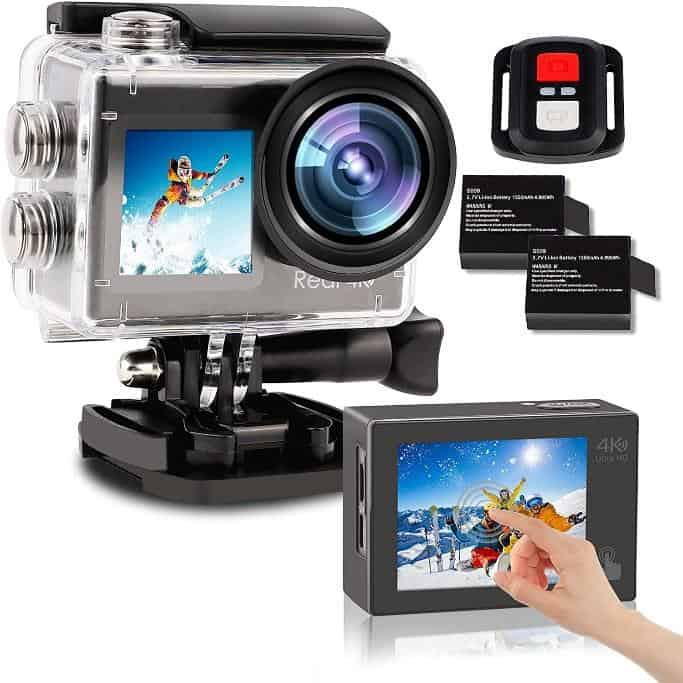 Best Cheap GoPro Alternative Action Cameras is the 2021 LByzHan Action Camera, we like the 4K 60FPS Dual Screen with EIS Stabilization 40M Vlogging, Which is better EIS or OIS? OIS can improve low light photography whereas EIS improves shaky hands while taking videos, What is OIS stabilization?