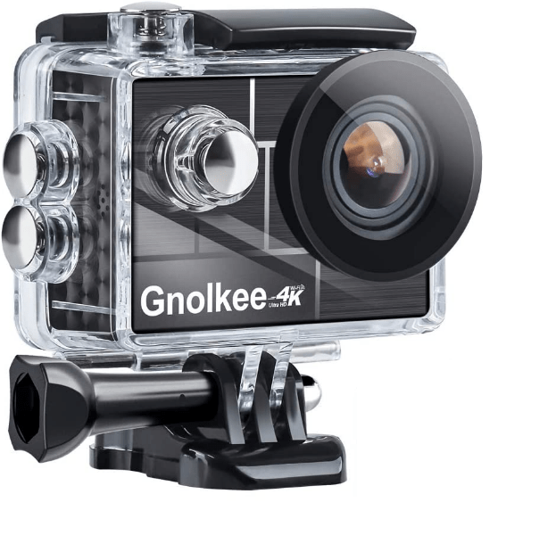 Gnolkee 4K WiFi Action Camera is the Best GoPro Alternatives to Buy in 2021, Gnolkee 4K WiFi Action Camera 16GB TF Card,16MP Underwater Video Camera 170 Wide Angle Sports Cam with Remote, 4K underwater photography camera supports a complete set of functions