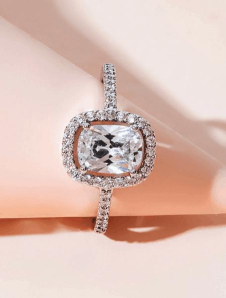 El anillo de decoración de diamantes de imitación es la mejor joyería de diseñador de Shein, pendientes asequibles de diseñador de imitación a bajo precio, ¿la joyería de Shein es falsa? ¿Por qué la joyería de Shein es tan barata?