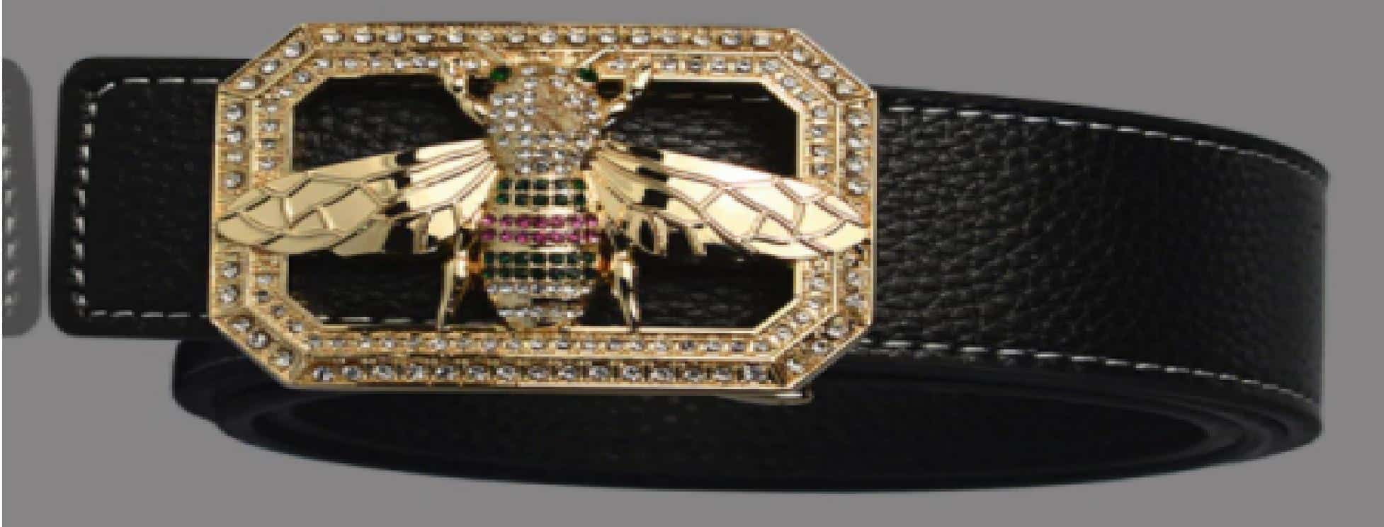 Leather Belt with Bumblebee Buckle is 10 Best Gucci Belt Dupes, 10 Gucci Belt Dupes that seriously look Real, The best Gucci Inspired Belts, Fake Gucci Belts (GG Belts) and Gucci Belt Dupes, 10 Cheap Gucci belts, 10,  Affordable Alternatives To The Popular Gucci Marmont Belt, Best Gucci belt dupe 2021 2022 2023, How to get a Gucci belt for cheap,